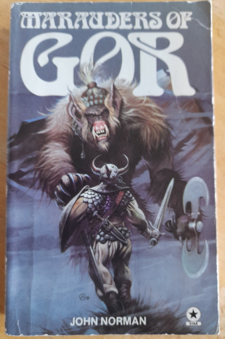 Norman, John - Marauders of Gor ( Gorean Cycle of the Chronicles of  Counter Earth - Book 9 ) - Vintage PB 1979 (  Originally 1975)