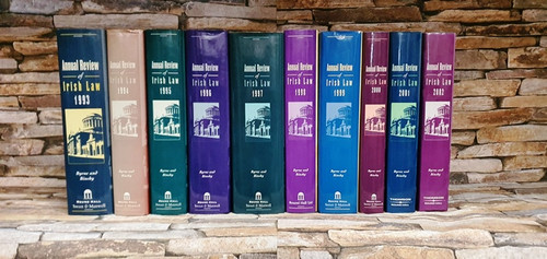 Annual Review of Irish Law by Byrne & Binchy 1987 - 2002 (16 Book Set)