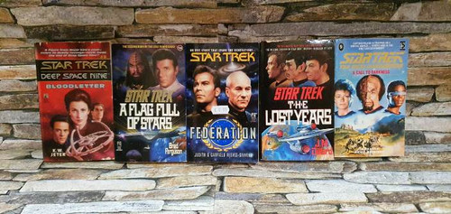 Star Trek (5 Book Collection)