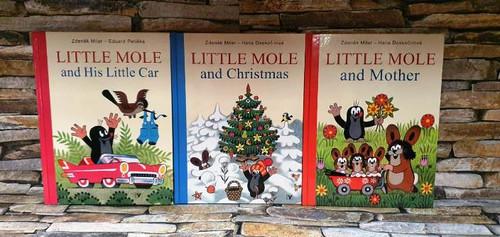Little Mole (3 Hardback Book Collection)