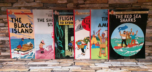 The Adventures Of Tintin (6 Book Collection)