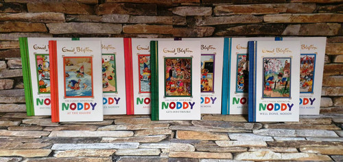 Enid Blyton Noddy - The Classic Adventure (9 Hardback Book Collection)