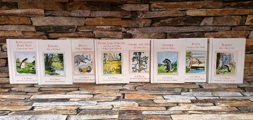 Egmont A.A. Milne and Ernest H. Shepard(14 Hardback Book Collection)