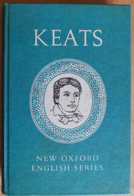 Keats, John - Selected Poems and letters - Hb - Oxford English Series - Selected by Roger Sharrock - 1964