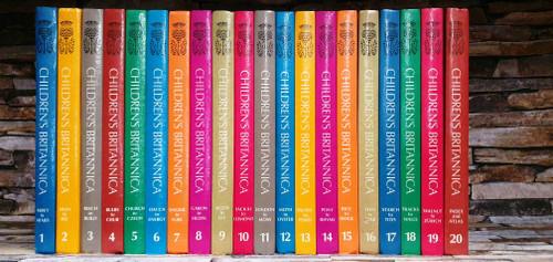 Children's Britannica 1985 (Complete 20 Book Encyclopaedia Set)