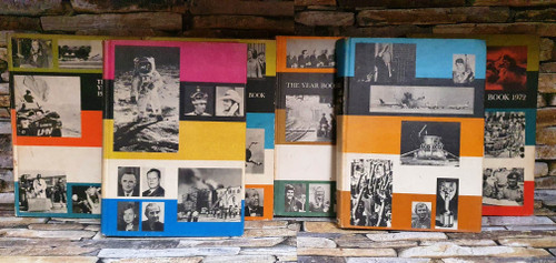The Year Book 1970 - 1975 (6 Hardback Book Collection)