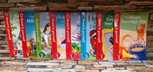 Ladybird Read It Yourself (15 Book Collection)