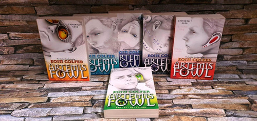 Eoin Colfer Artemis Fowl (6 Book Collection)