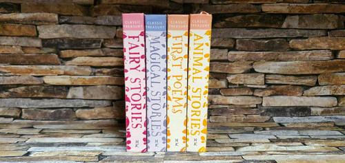 Miles Kelly Classic Treasury (4 Large Hardback Book Collection)