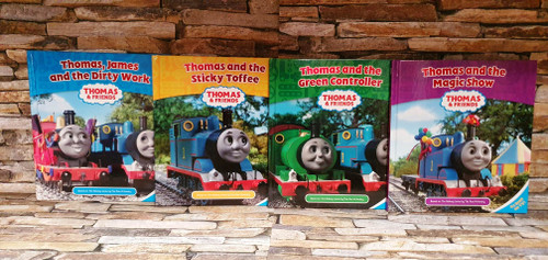 Thomas and Friends (4 Hardback Book Collection)
