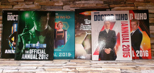 Doctor Who Annuals (6 Hardback Book Collection)