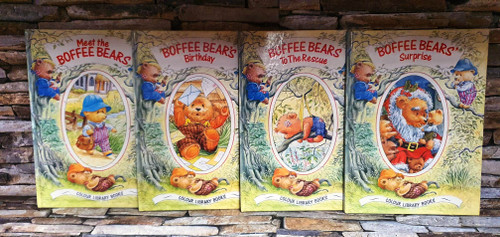 The Boffee Bears: Colour Library Books (4 Hardback Book Collection)