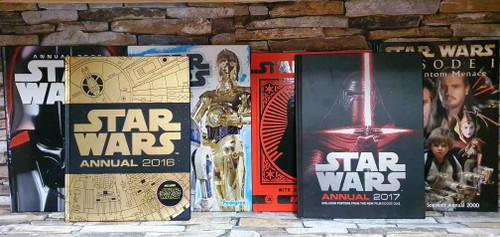 Star Wars Annuals (6 Hardback Book Collection)
