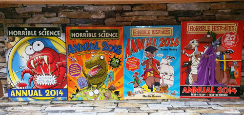 Scholastic Horrible Annuals (4 Hardback Book Collection)