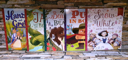 Classic Fairy Tales (5 Book Collection)