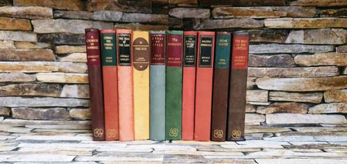 The Reprint Society London (10 Hardback Book Collection)
