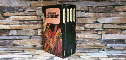 International Cookery (Complete 4 Book Box Set)
