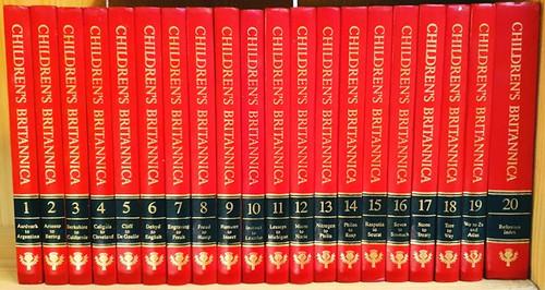 Children's Britannica 1993 (Complete 20 Book Encyclopaedia Set)