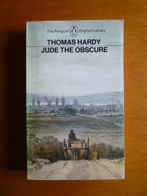 Hardy, Thomas - Jude The Obscure - Vintage Penguin English Library PB 1984 - Originally 1896