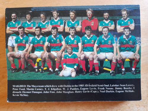 Reilly, Terry & Neill, Ivan - The Green Above the Red : A Compilation of Mayo's Greatest Football Triumphs - PB - GAA - 1985