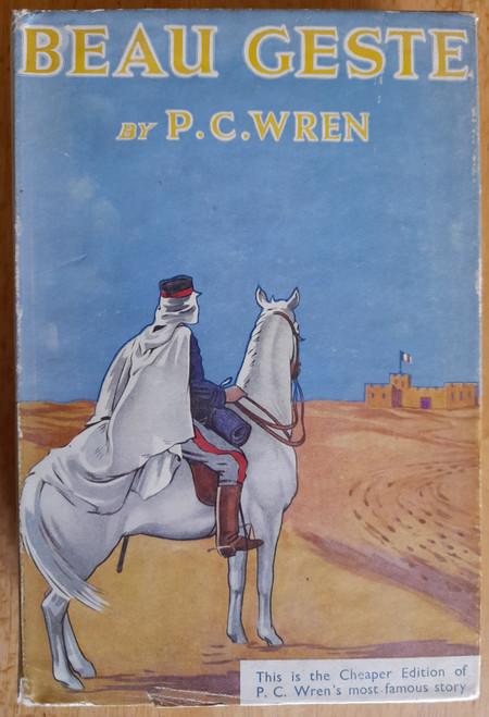 Wren, Percival Christopher  ( P.C Wren ) - Beau Geste - HB -1961  ( Originally 1924)
