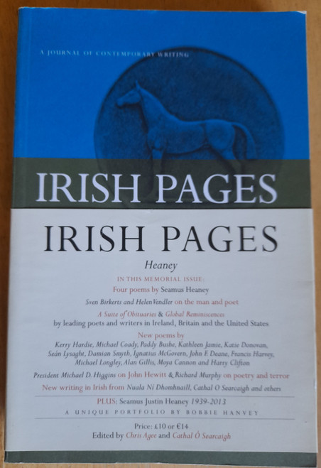 Irish Pages - PB - Heaney Memorial Issue - Volume 8  Number 2