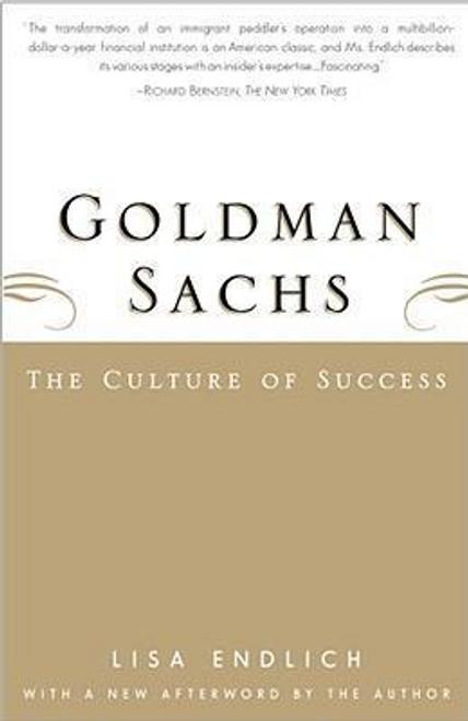 Endlich, Lisa / Goldman Sachs (Large Paperback)