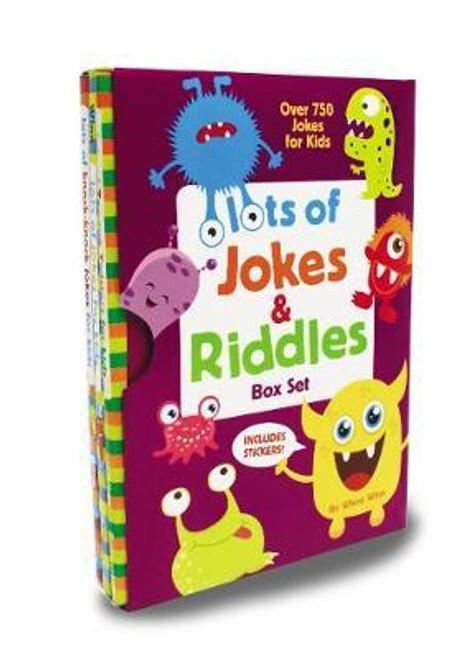 Lots of Jokes and Riddles Box Set (3 Book Box Set)