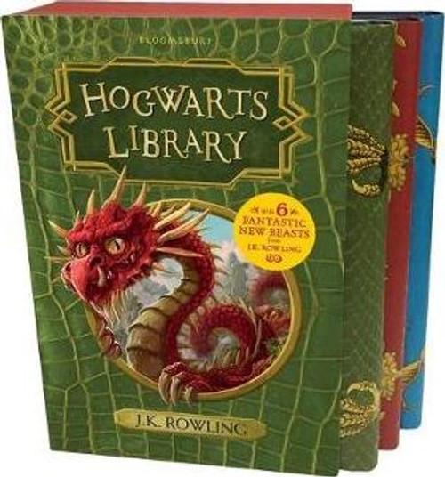 The Hogwarts Library Box Set (3 Book Box Set)