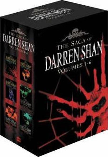 The Saga of Darren Shan Box Set 1-6 (6 Book Box Set)