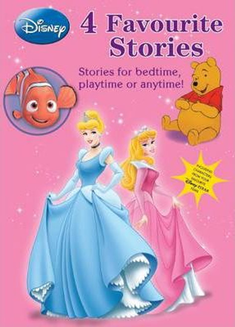 Disney 4 Favourite Stories for Girls (4 Book Box Set)
