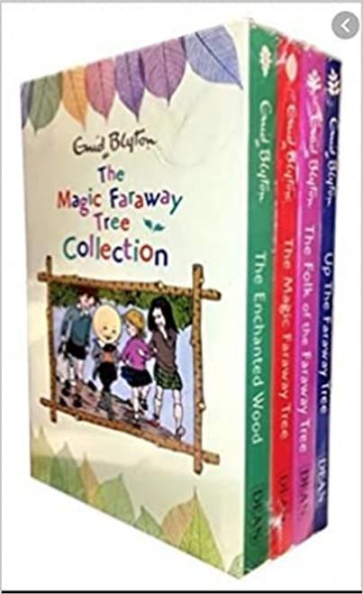 Blyton Magical Faraway Tree 4 book slip set (4 Book Box Set)