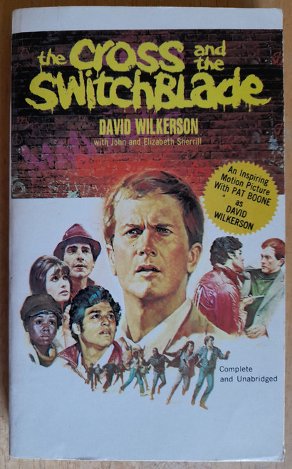 Wlkerson, David - The Cross and the Switchblade - Vinatage PB - film TIE in 1980