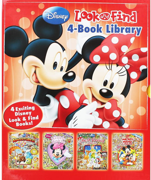 Disney Look and Find - 4 Book Library (4 Book Box Set)