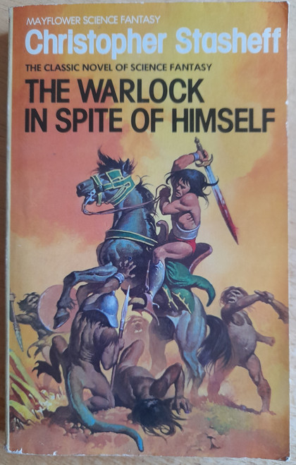 Stasheff, Christopher - The Warlock in Spite of Himself - Vintage PB 1982 ( Originally 1969)