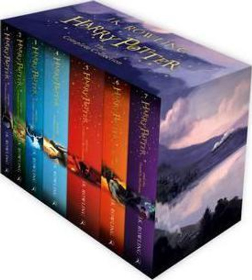 Harry Potter Box Set: The Complete Collection (Brand New) (Children's Paperback)(7 Book Box Set)