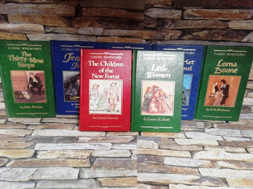 Classic Adventures (7 Book Collection)