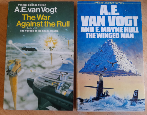 Van Vogt, A.E - The Winged Man & The War Against the Rull - 2 Vintage SF PB