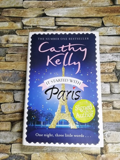 Cathy Kelly / It Started with Paris (Signed by the Author)