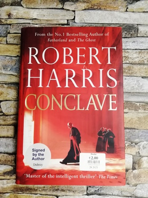 Robert Harris / Conclave (Signed by the Author)