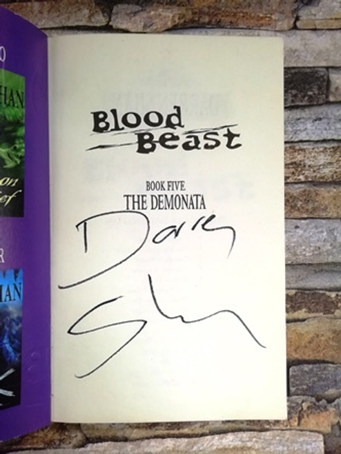 Darren Shan / Blood Beast (Signed by the Author)