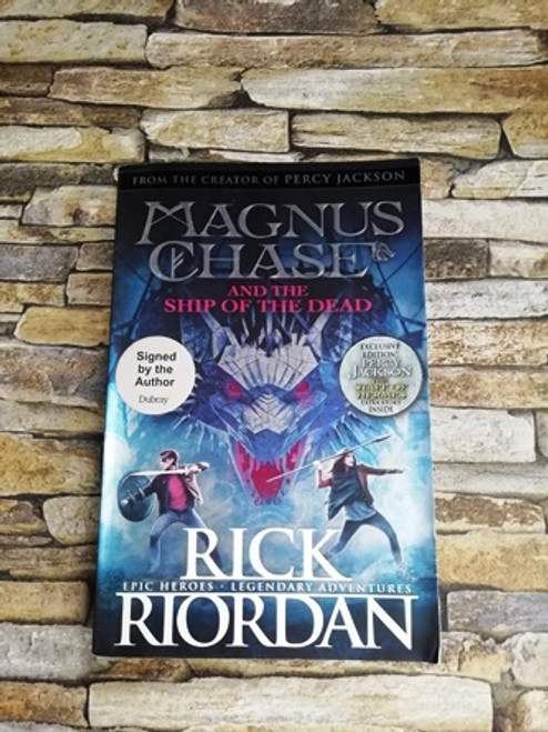 Rick Riordan / Magnus Chase and the Ship of the Dead (Signed by the Author)