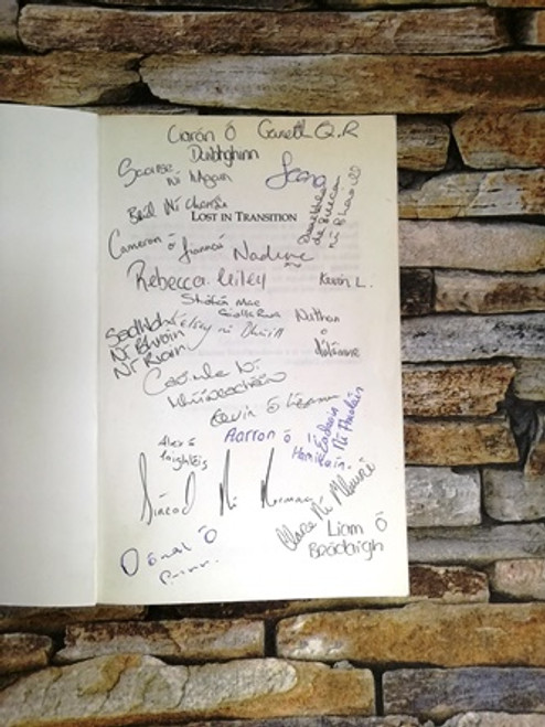 Fourth Year Students From Scoil Chaitríona / Lost in Translations (Signed by the Author)