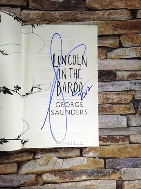 George Saunders / Lincoln in the Bardo (Signed by the Author)