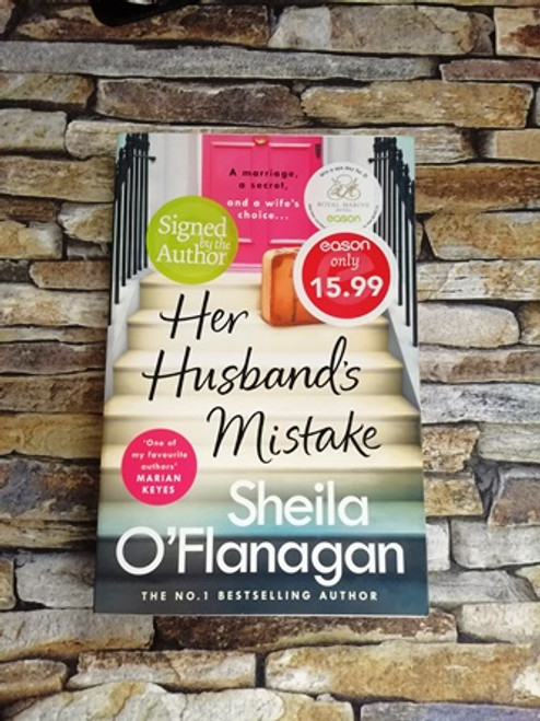 Sheila O'Flanagan / Her Husbands Mistake (Signed by the Author)