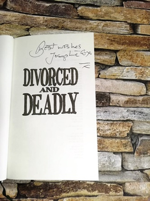 Josephine Cox / Finally Free! Divorced and Deadly  (Signed by the Author)