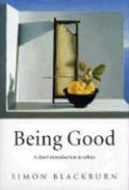 Blackburn, Simon / Being Good