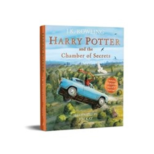 Rowling, J.K - Harry Potter and the Chamber of Secrets - ILLUSTRATED PB - Jim KAY - BRAND NEW ( Harry Potter Series- Book 2 )