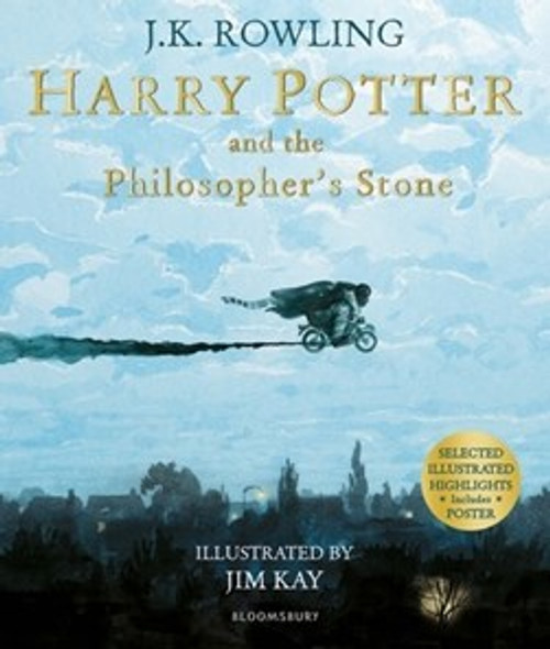 Rowling, J.K - Harry Potter and the Philosopher's Stone - ILLUSTRATED PB - Jim KAY - BRAND NEW ( Harry Potter Series- Book 1 )