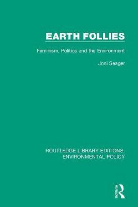 Seager, Joni / Earth Follies (Large Paperback)